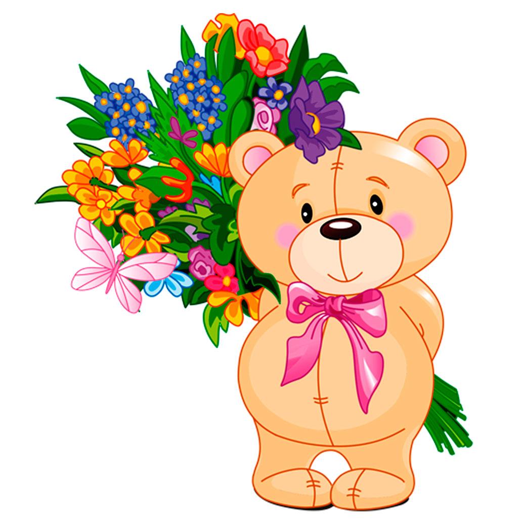 рисунки медвежат на марта весенне-летняя коллекция